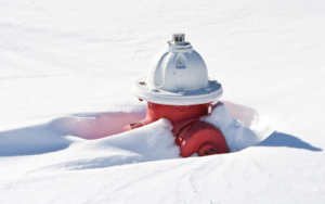 It's important to keep fire hydrants clear!